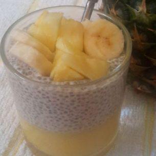 Pineapple Chia Seed Pudding