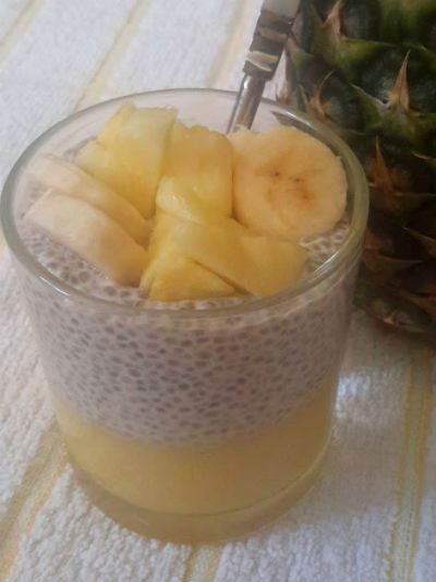 Pineapple Chia Seed Pudding