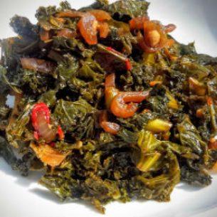Savoury Kale Yard Style